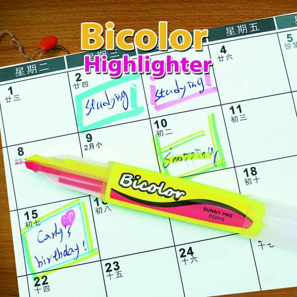ES2410 Bicolor Highlighter